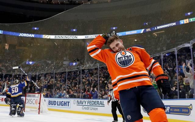 Leon Draisaitl von den Edmonton Oilers ist als erster Deutscher MVP in der NHL