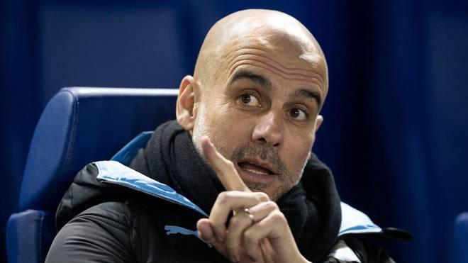 Pep Guardiola bleibt Trainer bei Manchester City