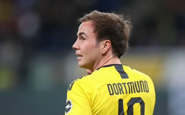 Mario Götze wird Borussia Dortmund nach dem Saisonende verlassen