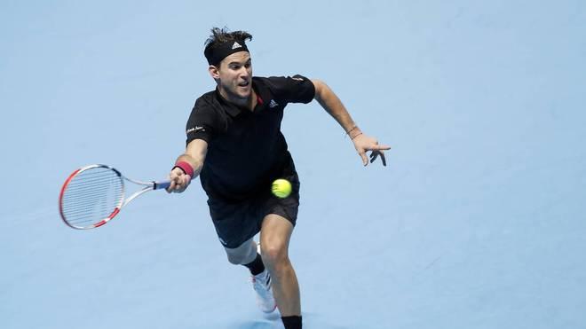 Dominic Thiem bezwang Novak Djokovic im Halbfinale der ATP Finals