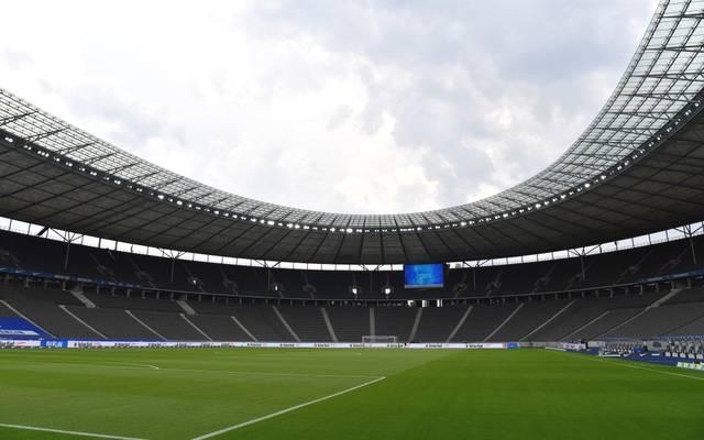 Das Olympiastadion in Berlin ist die Heimstätte von Hertha BSC