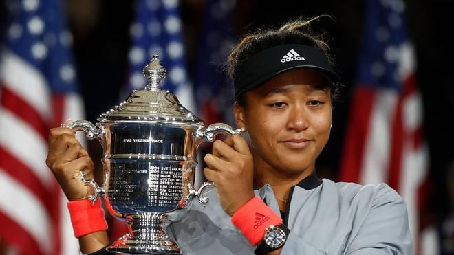 Titelverteidigerin Naomi Osaka greift bei den US Open ins Geschehen ein