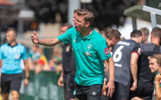 Florian Kohfeldt entging mit Werder Bremen 2019/20 knapp dem Abstieg in die 2. Bundesliga
