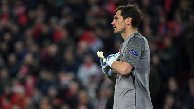 Iker Casillas winkt ein baldiges Comeback