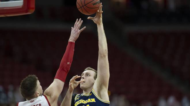 Franz Wagner spielt für die Michigan Wolverines