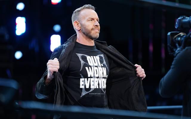 Der langjährige WWE-Star Christian Cage ist nun ebenfalls bei AEW