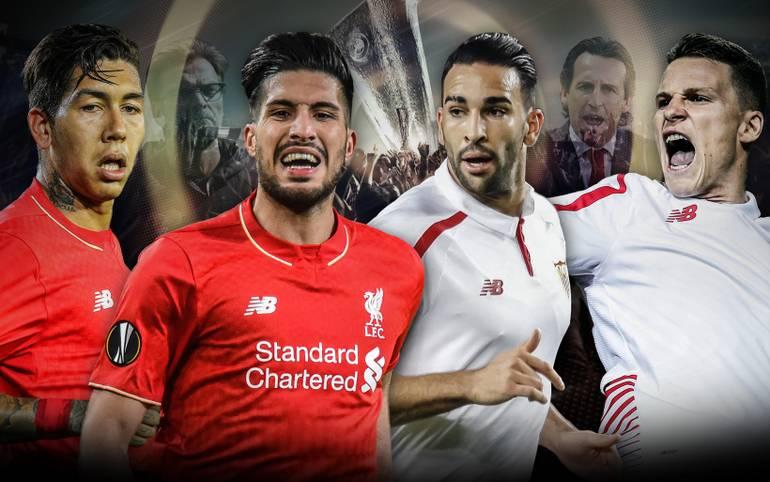 Wer setzt sich im Finale der UEFA Europa League die Krone auf? Auf Jürgen Klopps FC Liverpool wartet mit dem FC Sevilla eine eingespielte Siegmaschine. Die Spanier verlassen sich auf ihren Torjäger. SPORT1 macht den Positionsvergleich