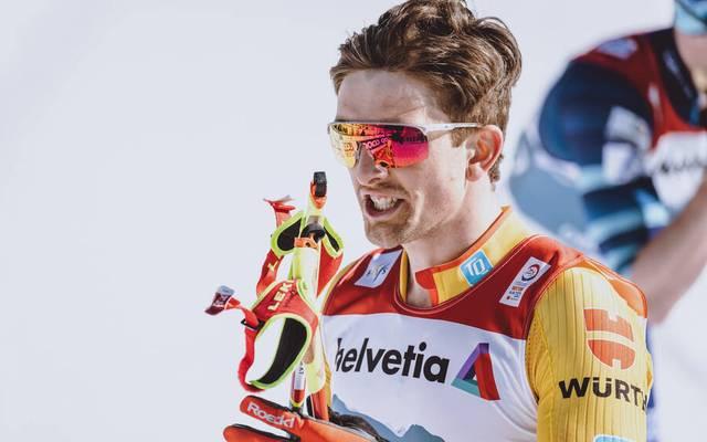 Janosch Brugger verlor seinen Ski