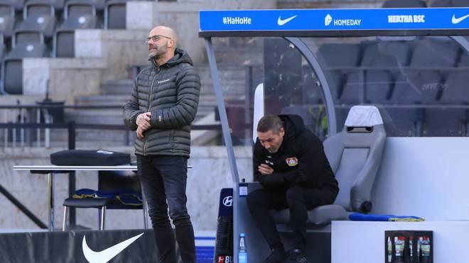 Peter Bosz gewann in der Rückrunde nur zwei Spiele mit Leverkusen