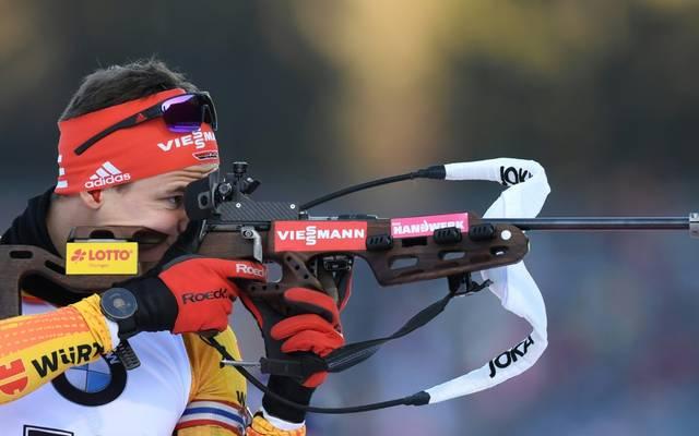 Philipp Horn verpasst den Auftakt im Biathlon-Weltcup