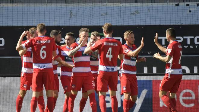 Der 1.FC Heidenheim siegt im ersten Spiel der neuen Saison gegen Eintracht Braunschweig