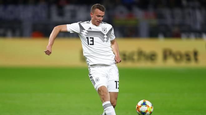 Klostermann gab im März 2019 sein Debüt in der Nationalmannschaft