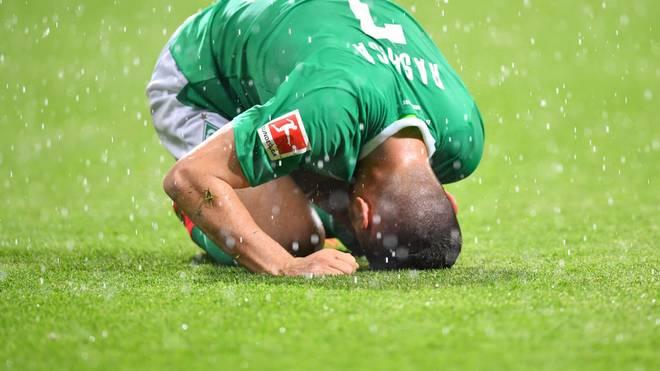 Milot Rashica und Werder Bremen könnten bereits am Wochendende absteigen