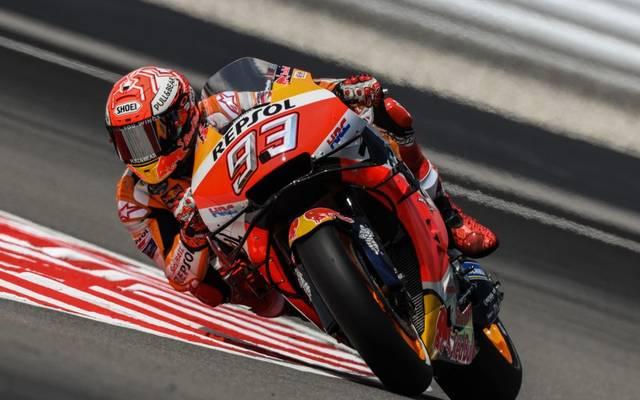 Marc Marquez kann in der MotoGP noch nicht auf die Strecke