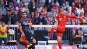 Michael Cuisance vom FC Bayern im Spiel gegen den 1. FC Köln