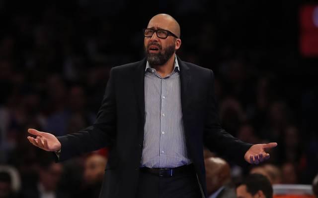 David Fizdale war seit Mai 2018 Trainer der New York Knicks