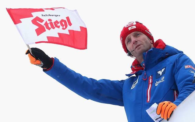 Der frühere Österreichische Cheftrainer Heinz Kuttin trainiert jetzt Frankreichs Skisprung-Team