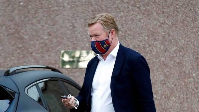 Ronald Koeman steht beim FC Barcelona bis 2022 unter Vertrag