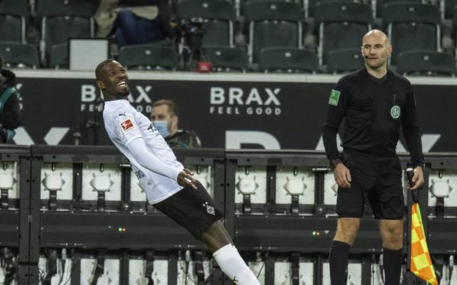 Marcus Thuram schoss Borussia Mönchengladbach gegen den SC Freiburg zum Sieg