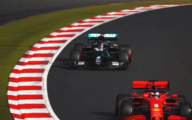 Lewis Hamilton musste sich im Qualifying nur Teamkollege Valtteri Bottas geschlagen geben