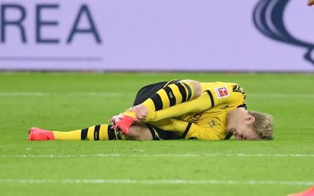 Julian Brandt verletzt sich am Sprunggelenk