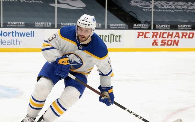 Hat die Negativserie mit Buffalo beendet: Tobias Rieder