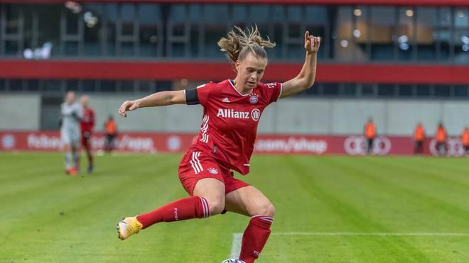 Klara Bühl traf für Bayern