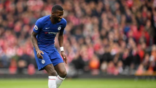 Antonio Rüdiger fällt für die CL-Partie des FC Chelsea gegen Valencia aus