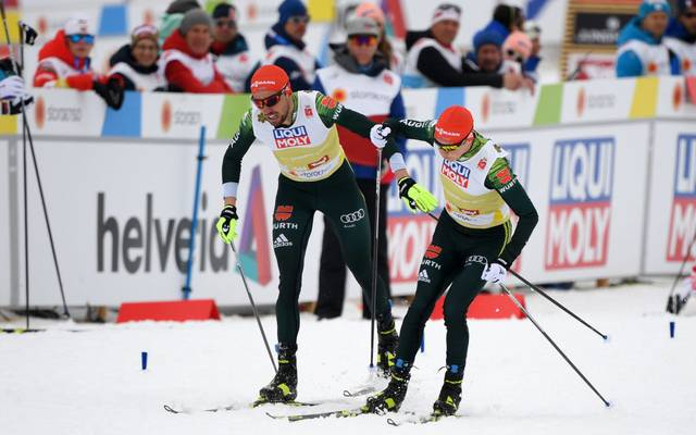 Johannes Rydzek (l.) und Eric Frenzel zählne auch in dieser Weltcup-Saison zu den Mitfavoriten auf den Gesamtsieg