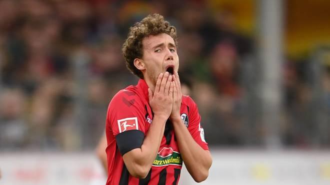 Luca Waldschmidt traf beim 2:2 im Hinspiel gegen Dortmund