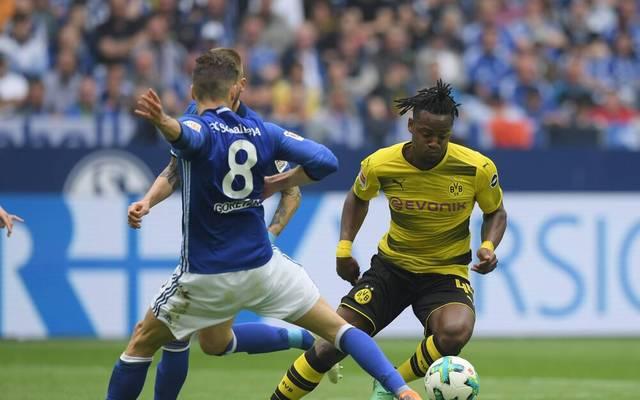 Michy Batshuayi (r.) spielte 2018 bei Borussia Dortmund