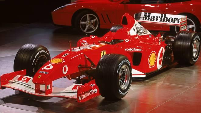 Mit dem F2002 feierte Michael Schumacher seinen fünften WM-Titel