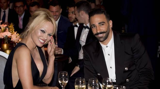 Pamela Anderson und Adil Rami waren bis 2019 liiert