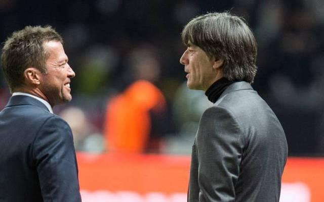 Rekordnationalspieler Lothar Matthäus (l.) kritisierte Bundestrainer Joachim Löw (r.) zuletzt.