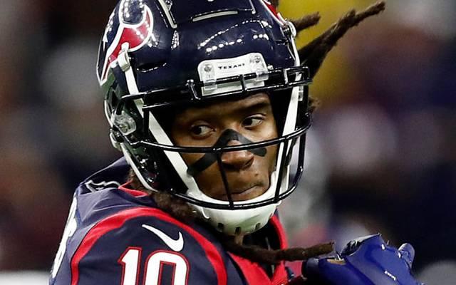 DeAndre Hopkins soll sich mit Texans Coach Bill O`Brien nicht ganz grün gewesen sein