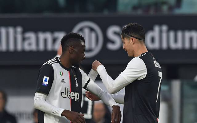 Blaise Matuidi (l., mit Cristiano Ronaldo) hatte eigentlich noch bis 2021 einen Vertrag bei Juve