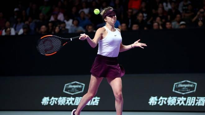 Elina Svitolina steht beim WTA-Finale im chinesischen Shenzhen im Endspiel