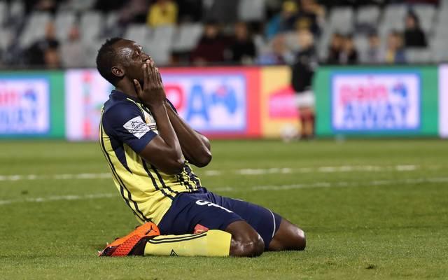 Usain Bolt wollte bei den Central Coast Mariners seine Fußball-Karriere starten