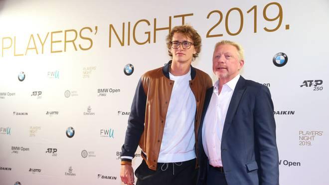 Eine Zusammenarbeit zwischen Alexander Zverev und Boris Becker ist nicht ausgeschlossen