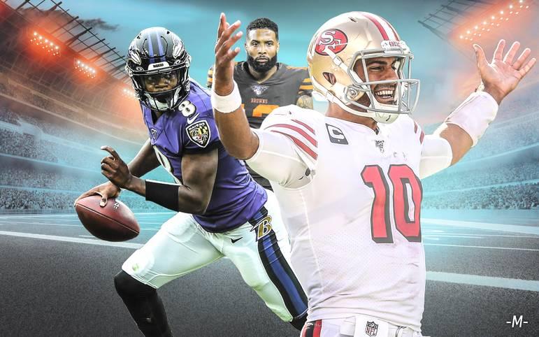 Neun Wochen sind in der NFL bereits gespielt - Zeit, um sich noch einmal die Kräfteverhältnisse genauer anzuschauen. Welche Teams kämpfen um die Playoffs oder gar den Super Bowl - und welche enttäuschen bisher auf ganzer Linie? Das SPORT1-Powerranking