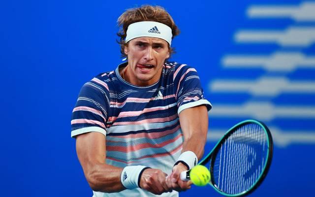 Alexander Zverev wird beim Kurz-Turnier in Berlin aufschlagen