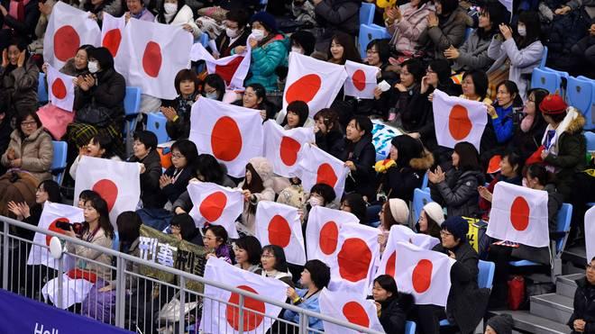 Die japanische Flagge wird in Südkorea nicht gern gesehen