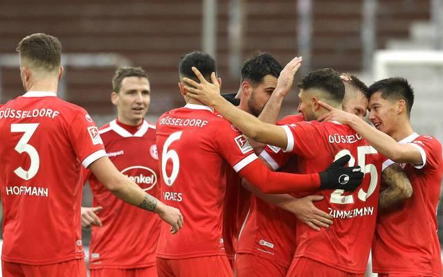 Fortuna Düsseldorf gewann zuletzt vier Spiele in Folge
