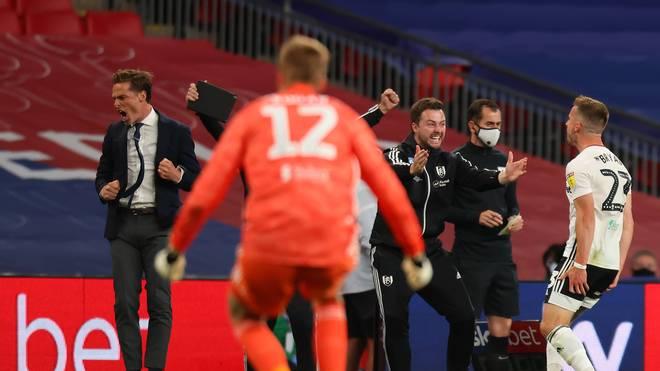 Der FC Fulham feiert in der Verlängerung