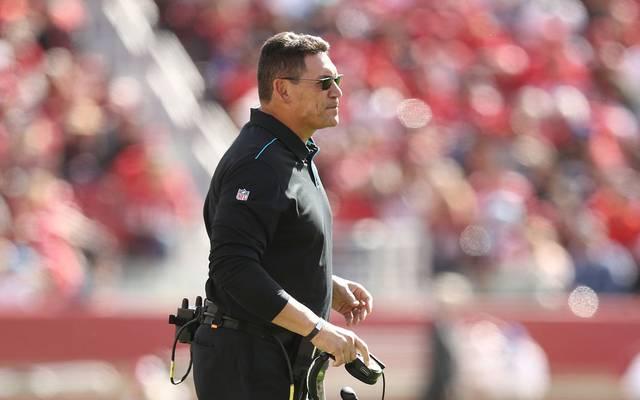 Carolina Panthers entlassen Coach Ron Rivera