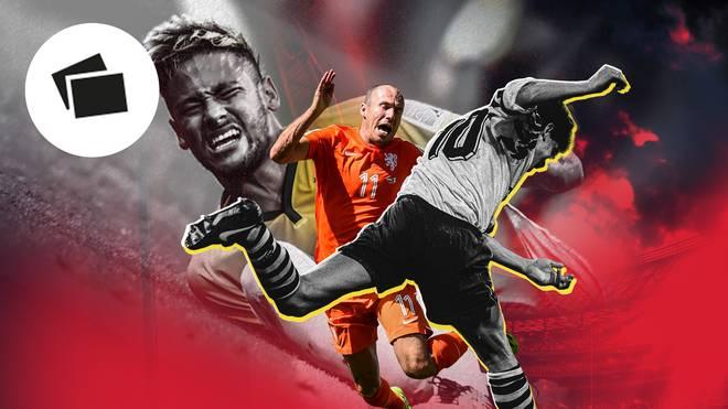 Die legendärsten Schwalben der Fußball-Geschichte