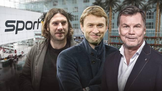 Torsten Frings und Simon Rolfes sind im CHECK24 Doppelpass zu Gast