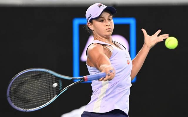 Ashleigh Barty zeigt sich bei den Australien Open von ihrer langen Turnierpause unbeeindruckt