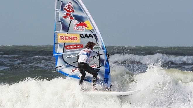 Philip Köster hat sich zum fünften Mal den Weltmeistertitel im Windsurfen gesichert