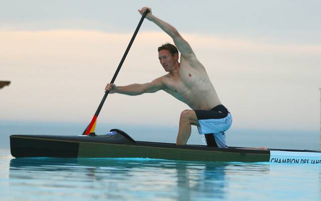 Andreas Dittmer ist ein dreimaliger Olympiasieger